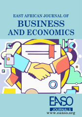 East African Journal of Business & Economics Cover