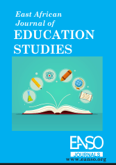 EANSO EAJES - East African Journal of Education Studies Cover